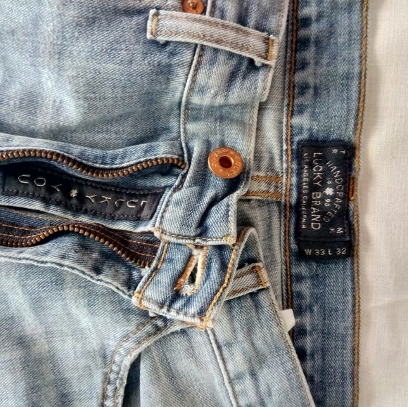 Lucky Brand Other - Lucky Brand Relaxed Straight Jeans